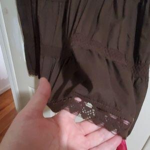 Lane Bryant Skirts - VGU size 3x Tiered Boho Peasant Skirt